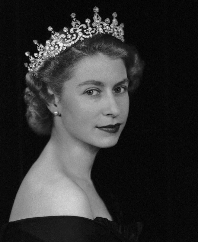 Young Queen Elizabeth
